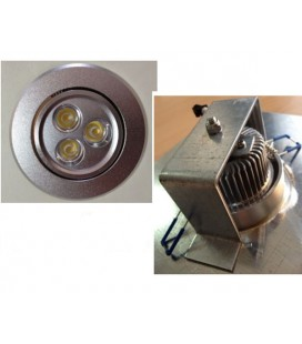 Downlight Led 4W  Anti-robo para ascensores
