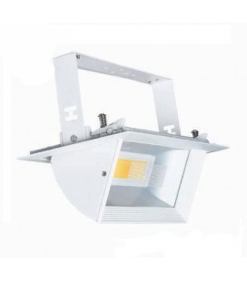 Downlight Led 30W basculante rectangular