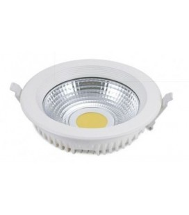 Downlight Led 25W empotrable blanco neutro