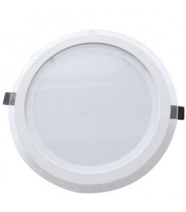 Downlight leds redondo 22 W empotrable