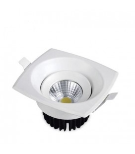Downlight led cob de 9 W cuadrado